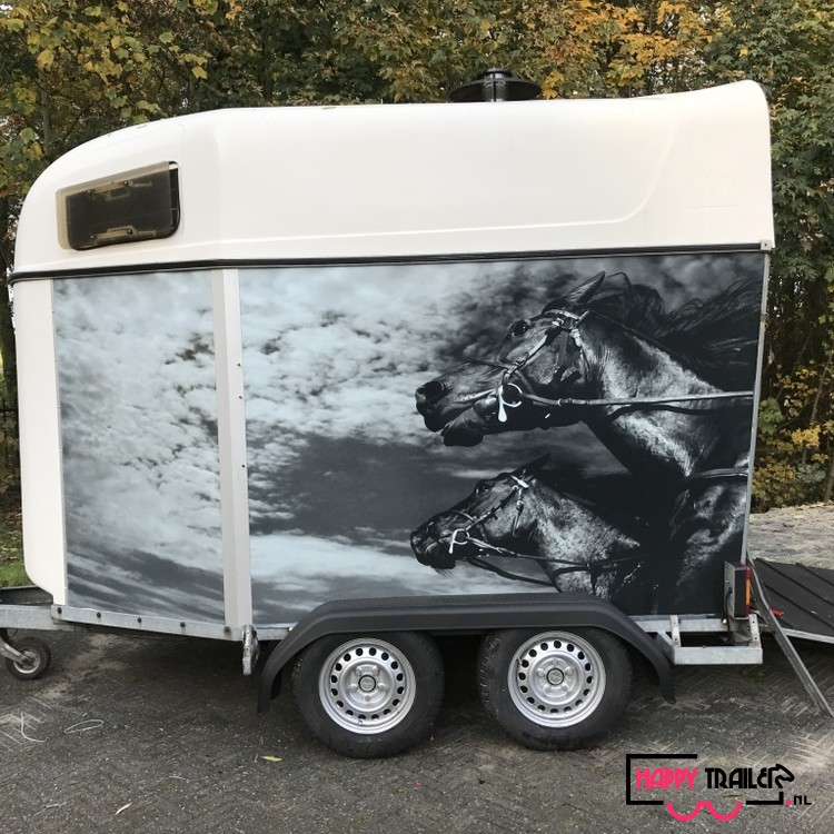 2 Paards Happy trailer: € 2250,-